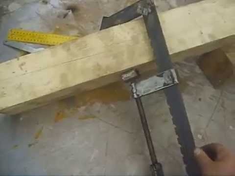 Sargentos hechos en casa home made metal clamps youtube - Sargentos para madera ...