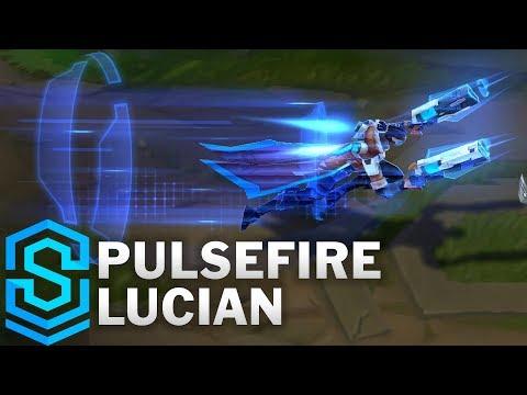 Pulsefire Lucian Skin Spotlight - League of Legends