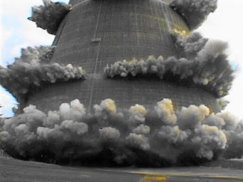 Trojan Nuclear Plant Cooling Tower – Controlled Demolition, Inc.