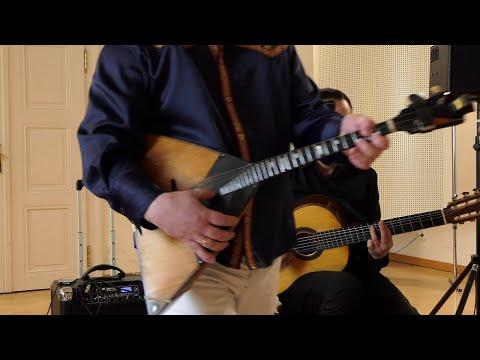 Despacito - Jurio Shutov- Balalaika, Bulat Budaev- Gitarre
