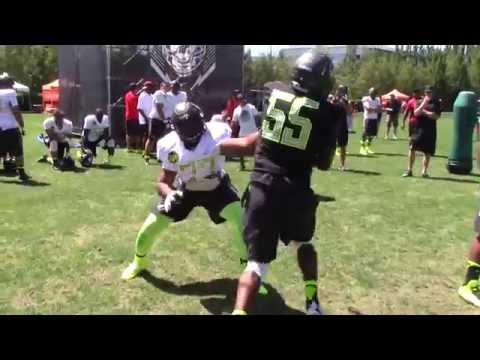 5-Star DL BYRON COWART Dominates at The Opening