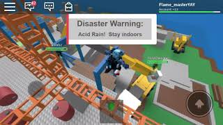 Roblox natural disasters survival gameplay