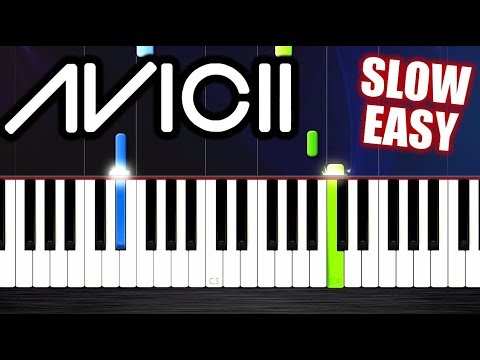 Avicii - Hey Brother - SLOW EASY Piano Tutorial by PlutaX - YouTube