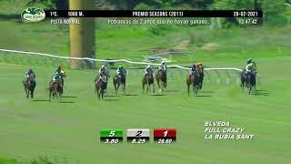 Vidéo de la course PMU PREMIO SEASONS 2011
