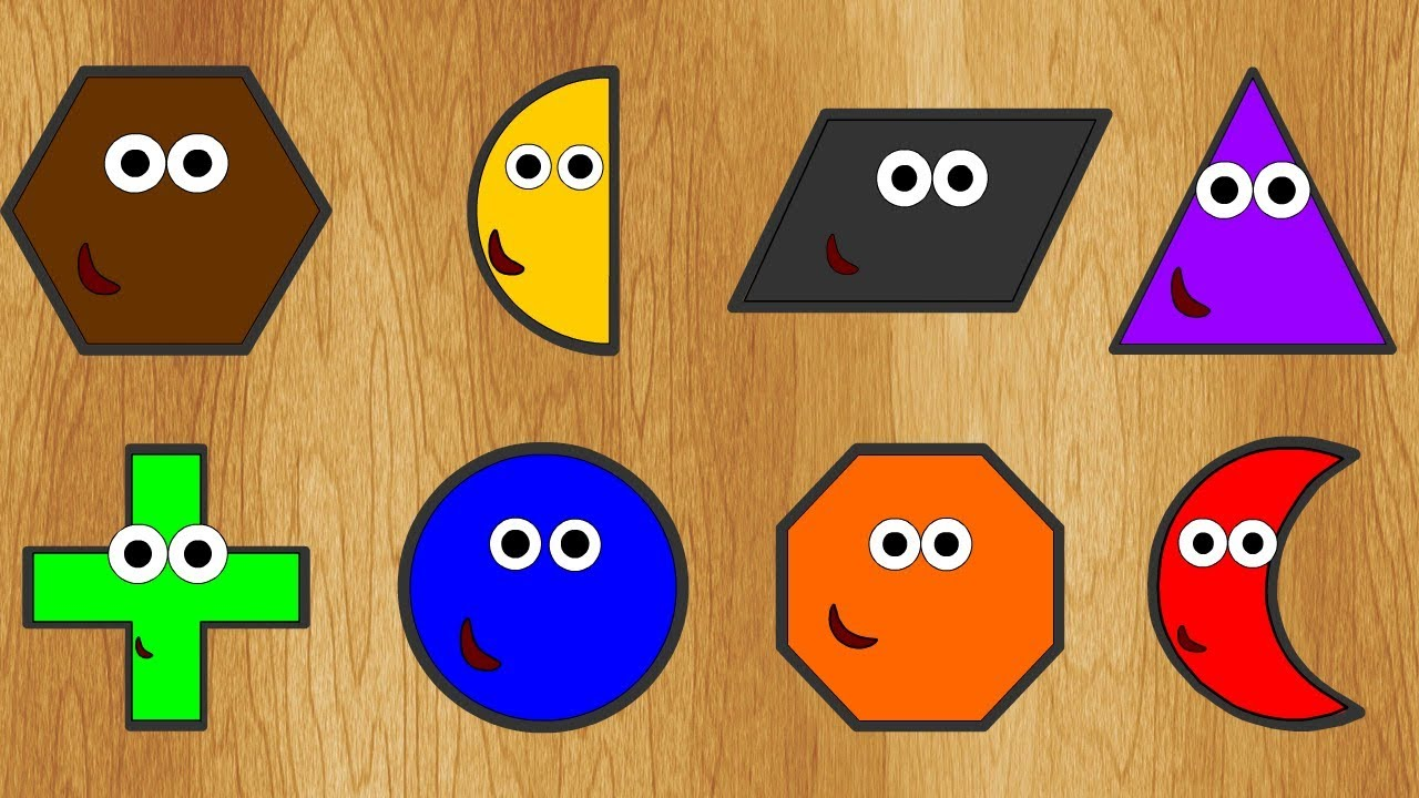 Wrong Shapes! New 2D Forms Learning Geometric Shapes For