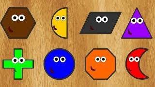 Wrong Shapes! New 2D Forms Learning Geometric Shapes for Toddlers Kids Preschoolers streaming