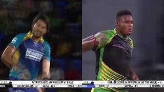 Irfan v Thomas you decide??? #CPL19 #CricketPlayedLouder