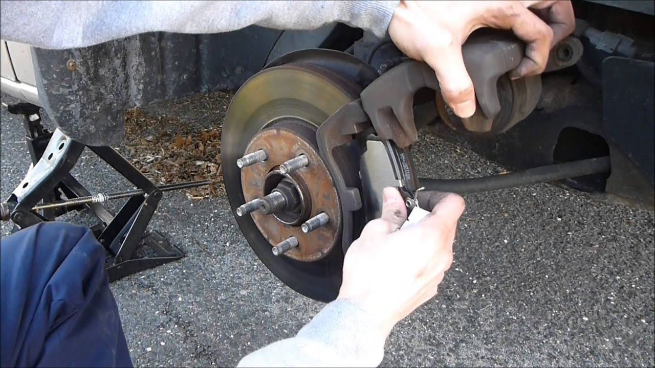 small resolution of how to change ford brake pads
