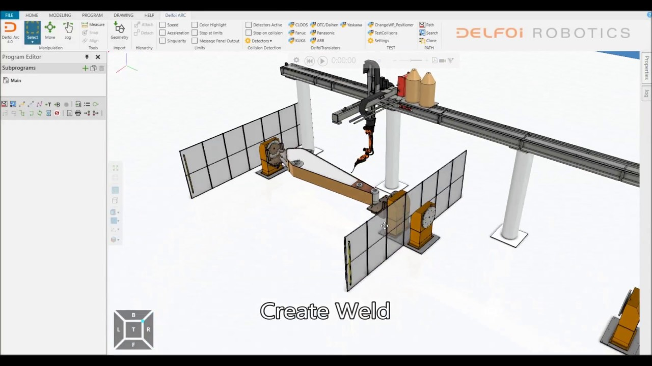 Delfoi Robotics - Offline software solutions