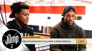 Get to know the friendship between Kyle Lowry and DeMar DeRozan | The Jump | ESPN
