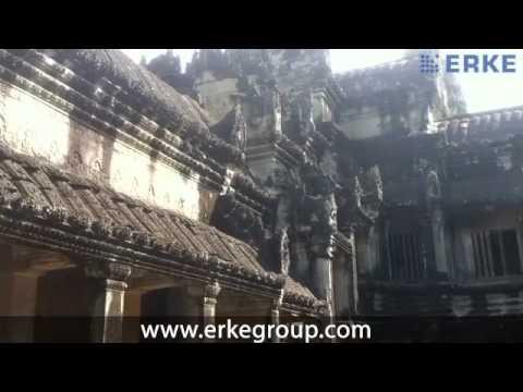 ERKE Marine, Angkor Wat World's Biggest Temple - Cambodia