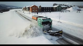 HD - The Snowplower - Brøytefilm - Snowplowing movie Norway 2018 - K70 - DJI - Gopro