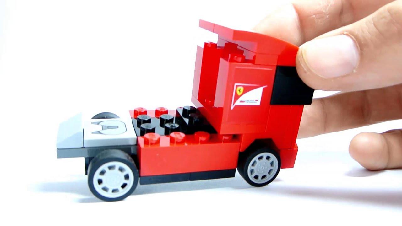 lego x shell 30191 scuderia ferrari truck iveco youtube. Black Bedroom Furniture Sets. Home Design Ideas
