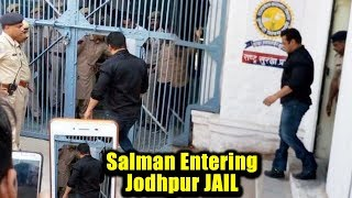 Salman Khan ENTERING Jodhpur JAIL Full Video | Salman Khan's BlackBuck Case
