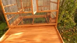 Wooden Bird Cage 2