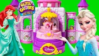 Glitzi Globes Spin 'n Sparkle Castle Playset ❤ Diy Glitzi Disney Princess Castle ❤ Belle Ariel
