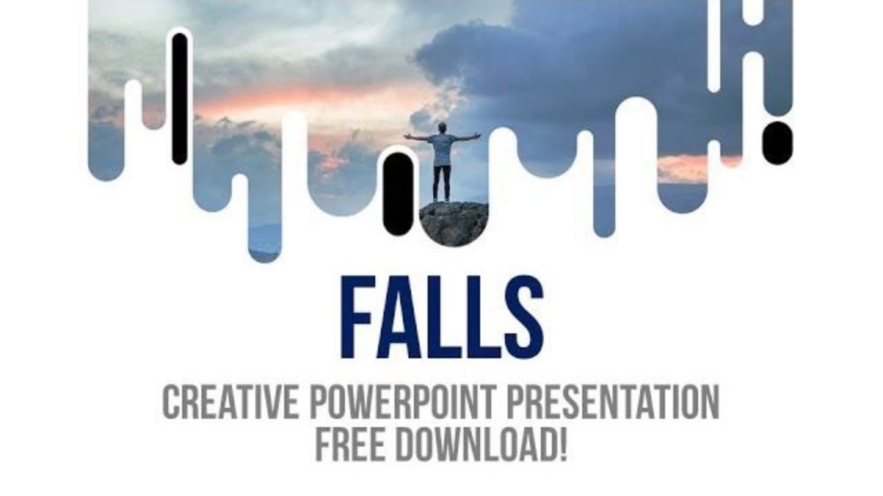 creative powerpoint slide template free download giveaway