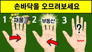 손바닥이 알려주는 나의 운세 및 재물운 Feat 대박나는 손금보는법