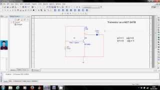 MULTISIM Tutorial  - 2 (ADITYA) Transistor as a switch