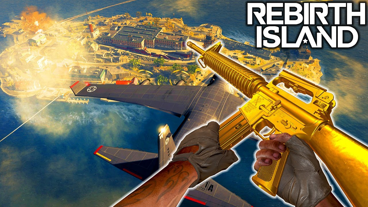 WARZONE - NEW REBIRTH ISLAND MAP & BLACK OPS COLD WAR WEAPONS!!!