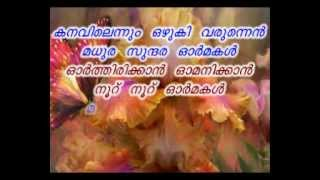 Mappila Song Karaoke Kanavilennum.wmv