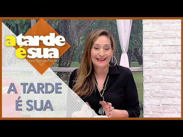 A Tarde é Sua (26/02/19)   Completo