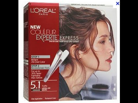 loreal couleur color experte hair color 51 medium truffle brown - Coloration L Oreal Caramel