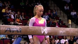 Nastia Liukin - Balance Beam - 2008 Visa Championships - Day 1