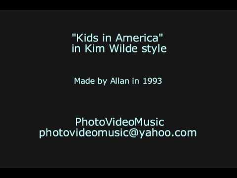Kim Wilde Kids in America karaoke