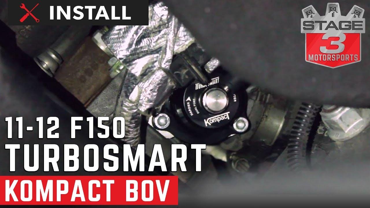 2011-2012 Ford F-150 Ecoboost TurboSmart Kompact Blow Off Valve Install