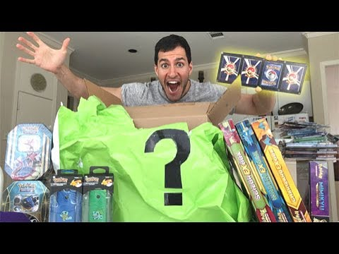 THE BIGGEST MYSTERY POWER BOX EVER UNBOXING FILLED WITH TONS OF POKEMON CARDS!