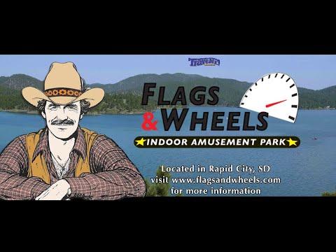 Flags And Wheels: Indoor Amusement Park   Rapid City, South Dakota