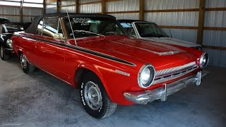 1964 Dodge Dart GT Convertible 225 Slant Six
