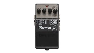 BOSS RV-6 Reverb Pedal Review by Sweetwater
