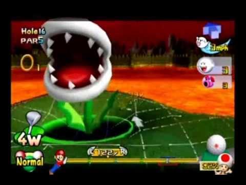 Mario Golf Toadstool Tour Ring Attack Bowser Badlands