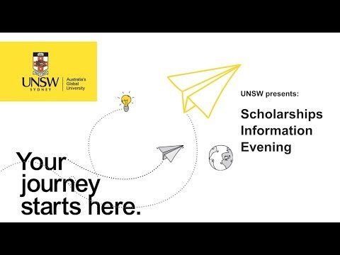 UNSW Scholarships Information Evening 2017 (FULL)