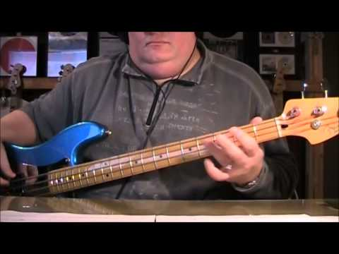 Loverboy Working For The Weekend Bass Cover