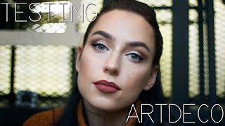 MAKE UP WITH ME | Artdeco Test