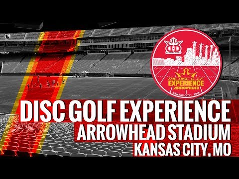 2018 Disc Golf Experience at Arrowhead Stadium - Kansas City, MO
