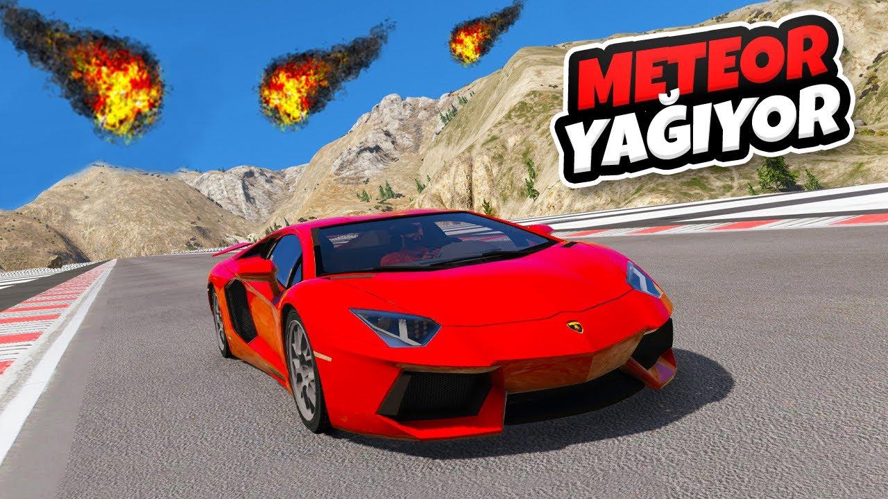 Download ☄️ Lamborghini Ailesi Arabalar Meteor Parkurunda ☄️ GTA 5
