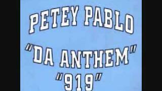 Watch Petey Pablo 919 video