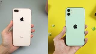 Nâng câp từ iPhone 8+ lên iPhone 11, 6 triệu chênh lệch đáng không?