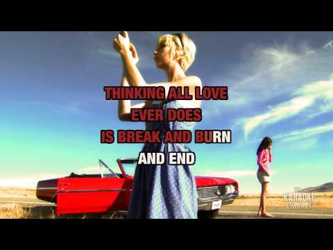 Begin Again : Taylor Swift | Karaoke with Lyrics