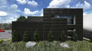 Koncepcja budynku usługowego