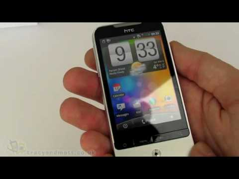 HTC Legend unboxing and demo video