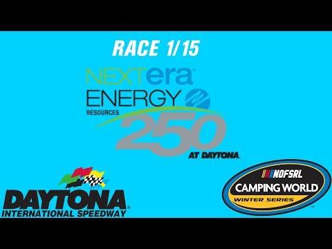 NR2003 - NOFSRL Camping World Winter Series S3 (R1/15) - Nextera Energy Resources 250