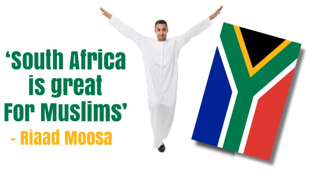 South Africa is great for Muslims - Riaad Moosa Comedy