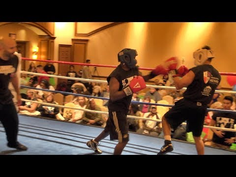 Jeff Mayweather gets dropped, loses charity boxing match
