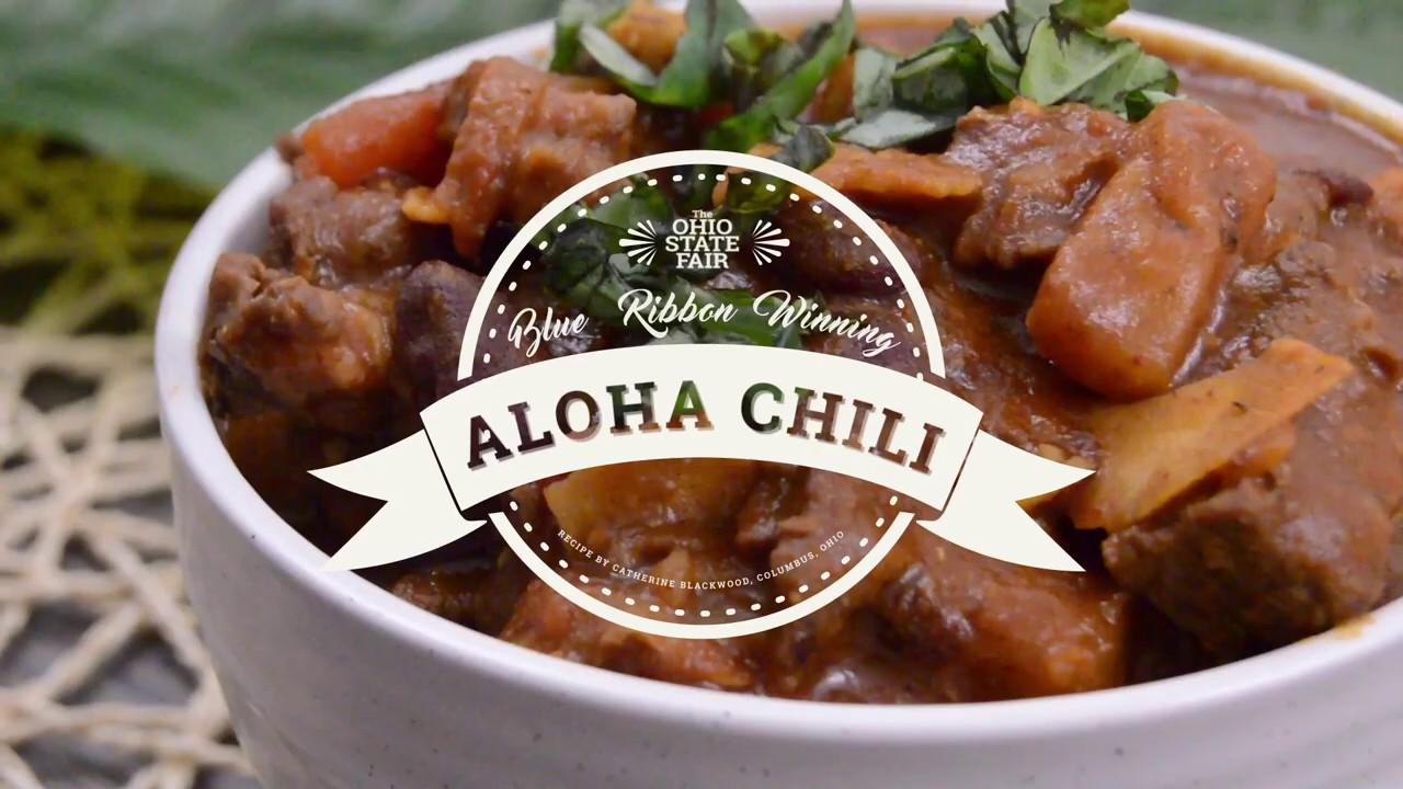 Say Aloha To This Chili Recipe Youtube