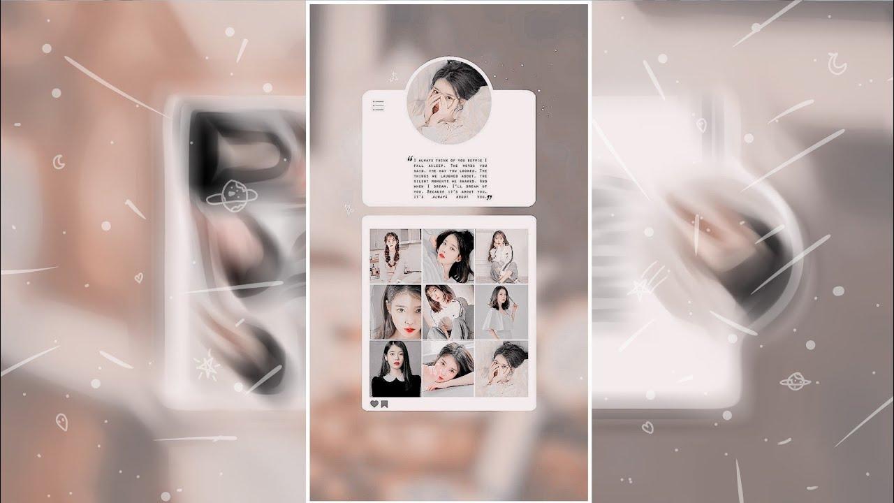 Watch Me Edit Template Kpop Wallpaper Picsart